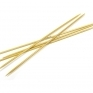 Pullover bamboo knitting needles 20cm, 6mm